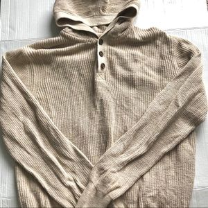 Lucky Brand Hooded Sweater Large